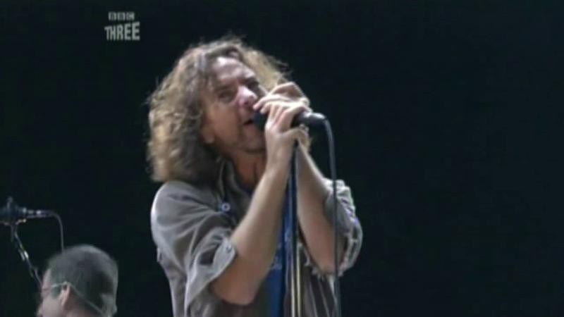 Pearl Jam Reading Festival Little John's Farm Reading 08 27 2006 Pro Shot