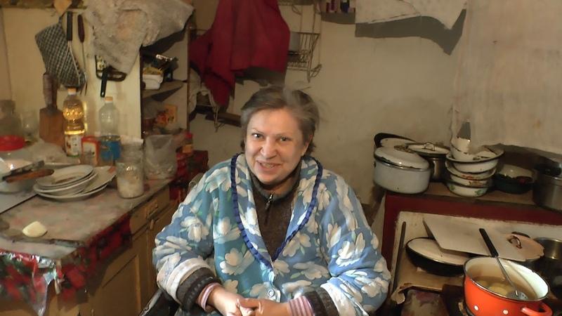 Помощь жительницы Латвии пенсионерке инвалиду