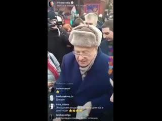 В Госдуме поведение Жириновского на Красной площади признали хамским