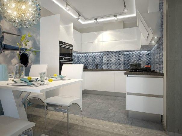 Кухня в современном стиле  #кухня #идеядлякухни #дизайнкухни