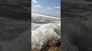 Видео от подписчика: Ледоход. Елабуга, Хабаровский район.