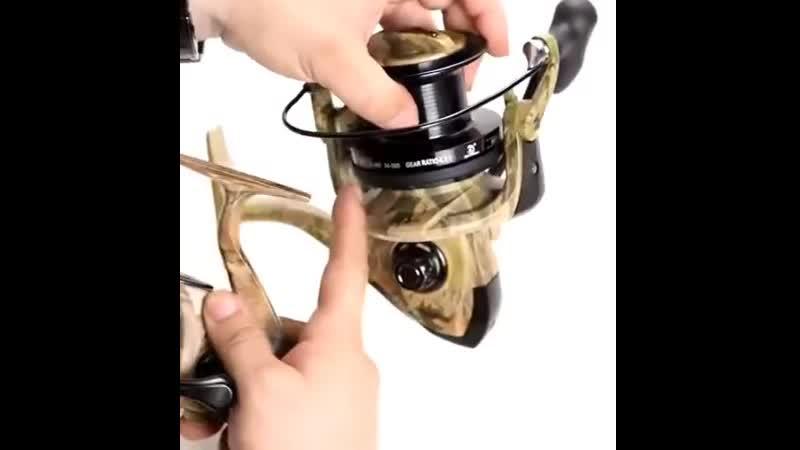 Безынерционная катушка с байтранером