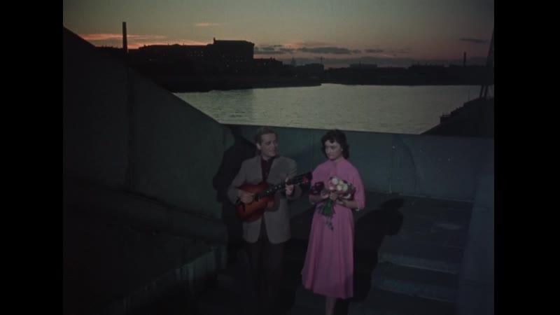 Юрий Белов 'Кукла бессердечная' 1080p Песня и фрагмент из к ф Девушка без адреса 1957