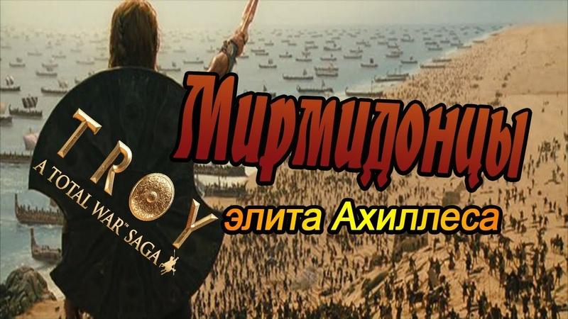 ЭЛИТА Ахиллеса Мирмидонцы VS Амазонки Total War Saga Troy