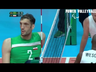 Morteza mehrzad 246 cm - the tallest volleyball player in the world (hd)