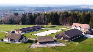 LUXURY STABLE TOURS: FAIRYTALE STABLES THAT BELONG TO A CASTLE
