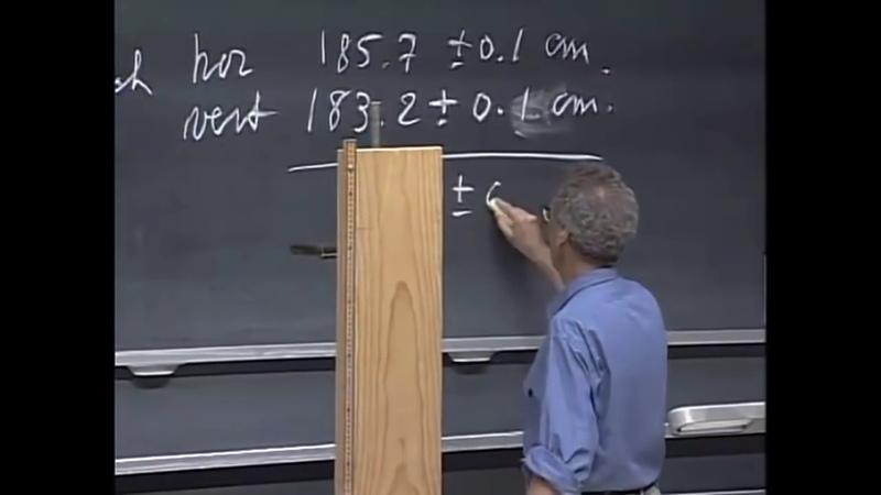 МИТ MIT 8 01x Лекция 1 Измерения пространства и времени озвучка КУРСОМИР KURSOMIR