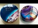 MOST SATISFYING MIRROR GLAZE CAKE DECORATING COMPILATION