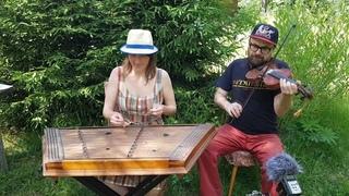 Скобаря на скрипке и цимбалах. Russian fiddle and cimbalom music
