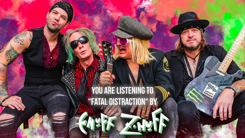 Enuff Z'Nuff Fatal Distraction Official Audio