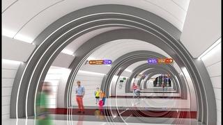 """Строительство станции """"Юго-Западная"""". Май 2021"""