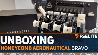 Unboxing the Honeycomb Aeronautical Bravo Throttle Quadrant