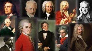50 Plus BELLES MUSIQUES CLASSIQUES (4h30 de Mozart, Bach, Beethoven, Chopin, Schubert...)