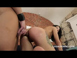 Kriss the Fox welcome to Porn with Balls Deep Anal, Manhandle, Gapes and Cum in