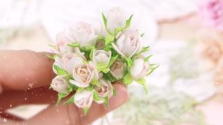 Бутоны роз из фоамирана / Цветы своими руками для скрапбукинга и украшений/Фоамиран DIY foamiran